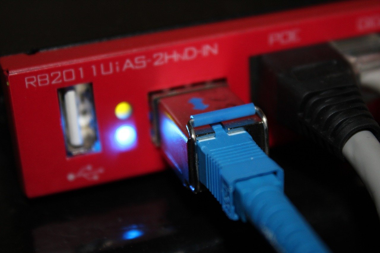 rete aziendale - LAN router
