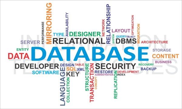 Database relazionale - tag cloud