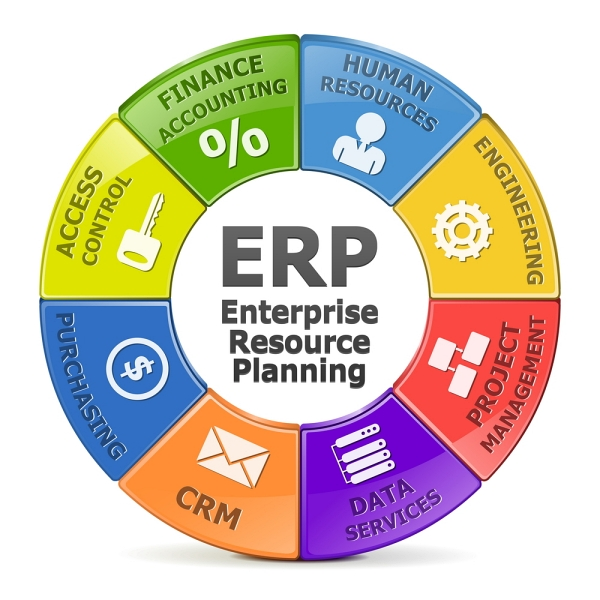 Sistema ERP - le componenti applicative di un ERP